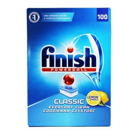 Detergent mașina de spălat vase Finish Classic Lemon , 100 tablete 0