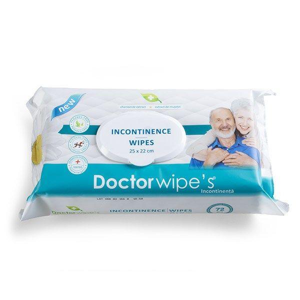 șervețele, umede,  incontinență, doctor wipe's [0]