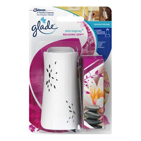 Glade Microspray aparat + rezervă Relaxing Zen 0