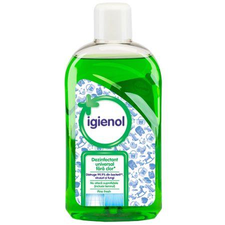 Igienol dezinfectant fără clor Blue Fresh, 1L 0