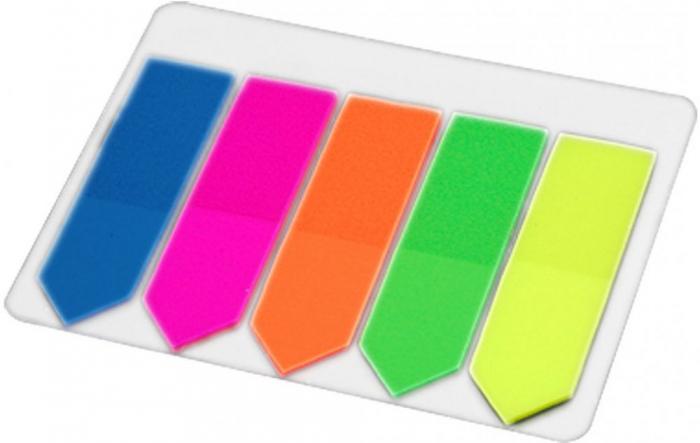 Index plastic autoadeziv sageata, 5 culori/set [0]