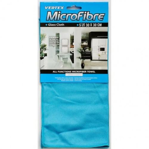 Lavetă microfibră geamuri Vertex 30x30 cm 0