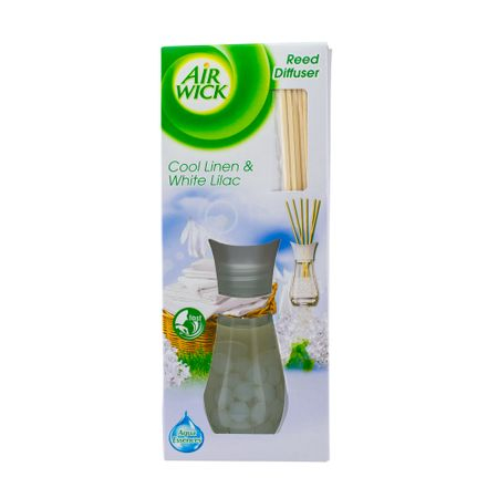 Odorizant AIR WICK Reed Diffuser Life Scents Cool Linen & Lilac, 25 ml 0