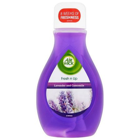 Odorizant cameră lichid AIR WICK Fresh N Up Lavender & Camomile, 375 ml 0