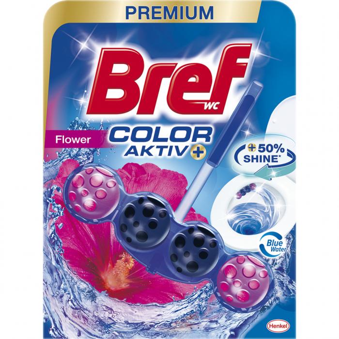 Odorizant toaleta Bref  Color Aktiv Flower, 50 gr. [0]
