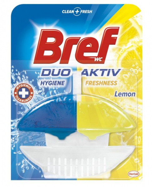 Bref odorizant toaletă DUO Aktiv Lemon, 50ml 0