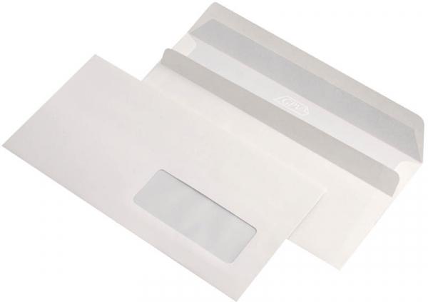 Plic DL siliconic GPV cu fereastră dreapta 0