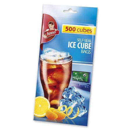 Pungi pentru gheața cu autoînchidere Anna, 500 buc. 0