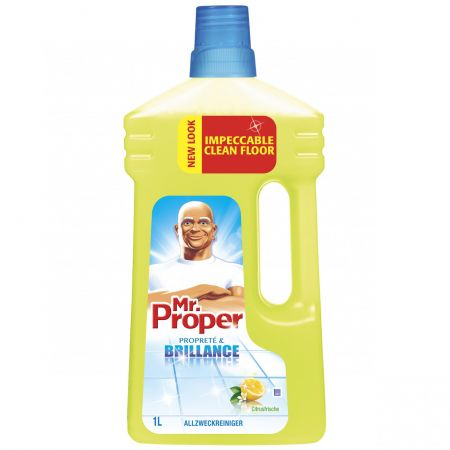 Mr. Proper Lemon 1L detergent universal pentru suprafete 0