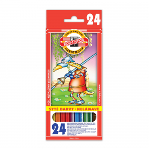 Creioane colorate KOH-I-NOOR, 24 buc0