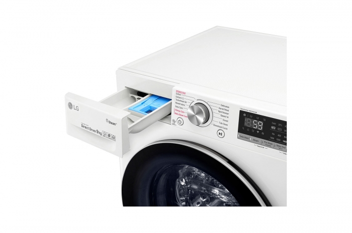 Masina de spalat rufe LG F4WN609S1, 9 Kg, 1400RPM, clasa A+++ 4
