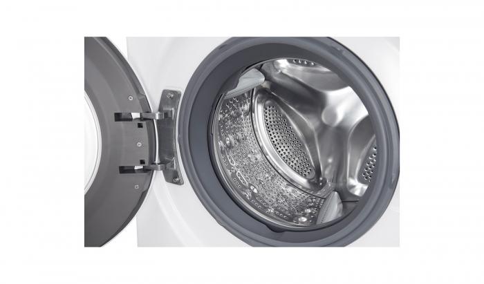 Masina de spalat rufe LG F4J6EY2W, 8.5 kg, 1400 RPM, Clasa A+++ 9
