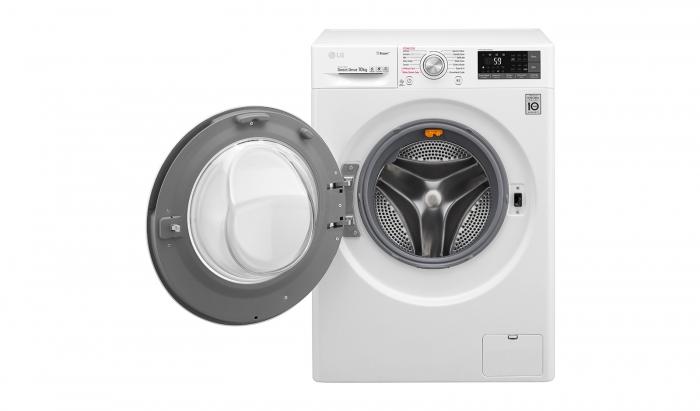 Masina de spalat rufe LG F4J7JY2W, 10 kg, 1400 RPM, Clasa A+++ 1