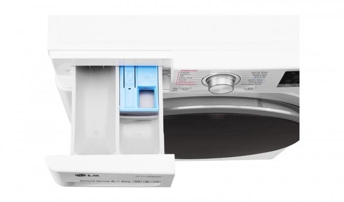 Masina de spalat rufe cu uscator LG F4J7TH1W 8