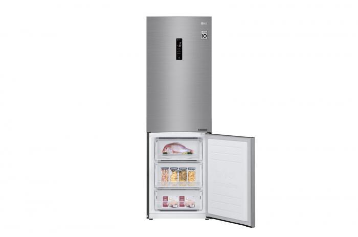 Combina frigorifica LG GBB61PZHZN, A++, 341 L, Total No Frost, Compresor Linear Inverter 8