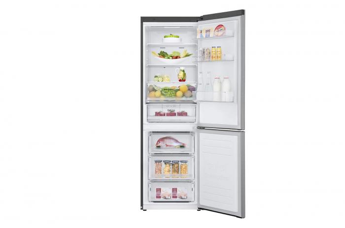 Combina frigorifica LG GBB61PZHZN, A++, 341 L, Total No Frost, Compresor Linear Inverter 2