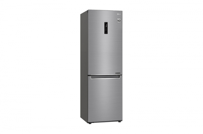 Combina frigorifica LG GBB61PZHZN, A++, 341 L, Total No Frost, Compresor Linear Inverter 10