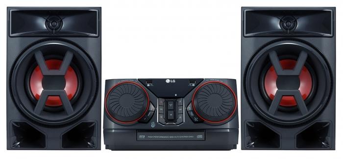 Minisitem audio LG CK43, 300W 0