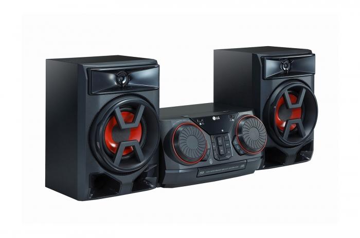 Minisitem audio LG CK43, 300W 2