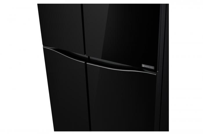 Side by Side LG Door in Door GSM860BMAV, 618 l, Sticla Neagra 4
