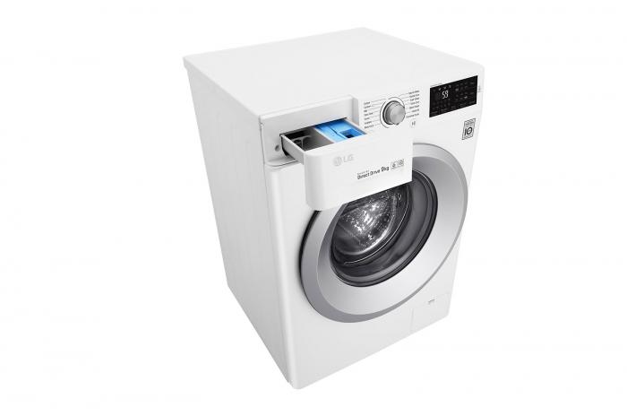 Mașină de spălat LG F4J5VN4W, 9Kg, 6 Motion DD, 10 ani garanție, Clasa A+++, NFC Smart ThinQ 6