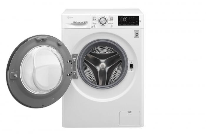 Mașină de spălat LG F4J5VN4W, 9Kg, 6 Motion DD, 10 ani garanție, Clasa A+++, NFC Smart ThinQ 1