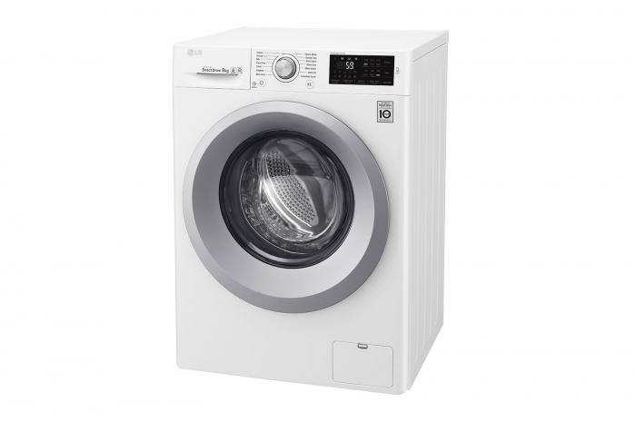 Mașină de spălat LG F4J5VN4W, 9Kg, 6 Motion DD, 10 ani garanție, Clasa A+++, NFC Smart ThinQ 7