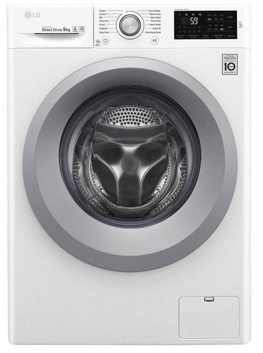 Mașină de spălat LG F4J5VN4W, 9Kg, 6 Motion DD, 10 ani garanție, Clasa A+++, NFC Smart ThinQ 0