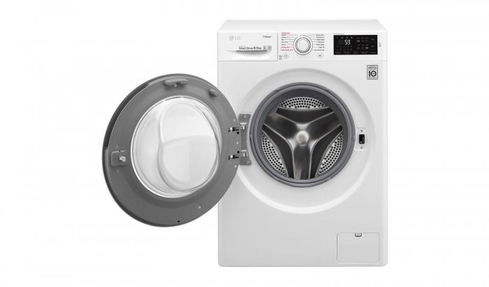 Masina de spalat rufe LG F0J6WY1W, Direct Drive, SpaSteam, Clasa A+++ 1