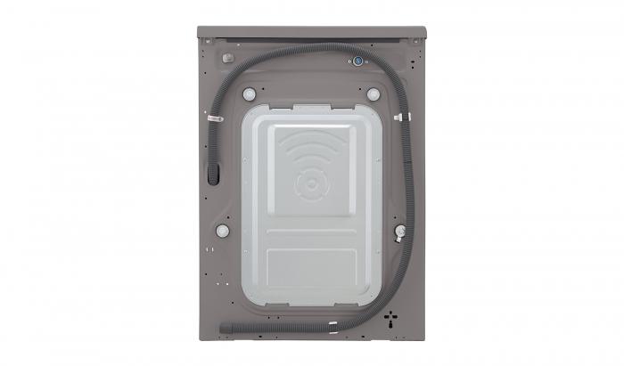 Masina de spalat rufe LG F4J5TN7S, Direct Drive, 8 kg, A+++, Argintiu 12