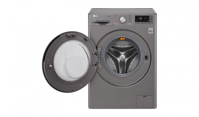 Masina de spalat rufe LG F4J7VY2S, 9 kg, Clasa A+++, Argintiu 1