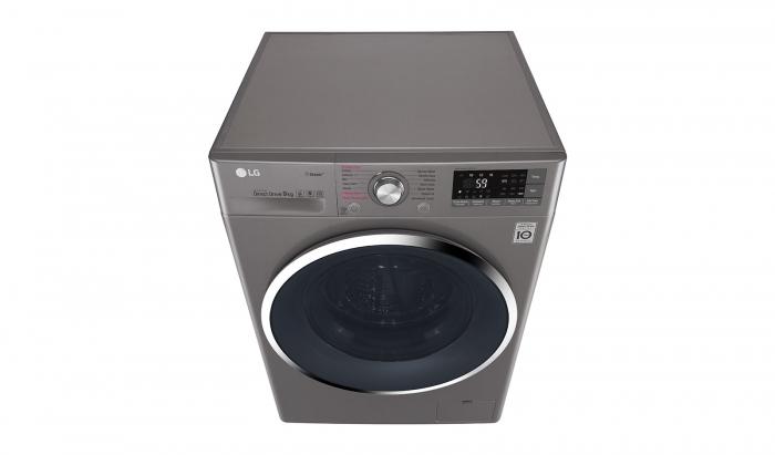 Masina de spalat rufe LG F4J7VY2S, 9 kg, Clasa A+++, Argintiu 3