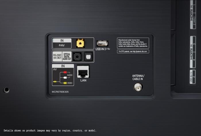Televizor LED Smart LG, 164 cm, 65SM9800PLA, 4K Ultra HD 8