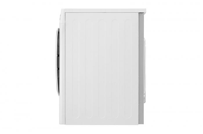 Uscător LG RC80U2AV4D, Pompă de căldură Dual Inverter, 8kg, Clasa A+++, EcoHybrid, Wifi 6