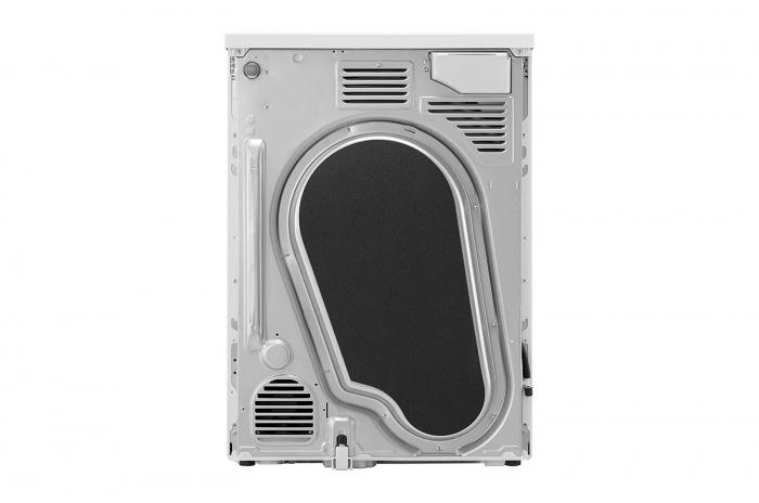 Uscător LG RC80U2AV4D, Pompă de căldură Dual Inverter, 8kg, Clasa A+++, EcoHybrid, Wifi 7