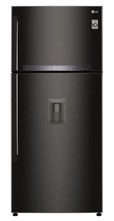 Frigider cu 2 usi LG GTF744BLPZD, 509 l, 180 cm, A++0