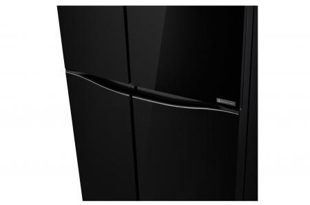 Side by Side LG Door in Door GSM860BMAV, 618 l, Sticla Neagra4