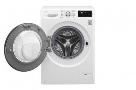 Mașină de spălat LG F4J5VN4W, 9Kg, 6 Motion DD, 10 ani garanție, Clasa A+++, NFC Smart ThinQ1