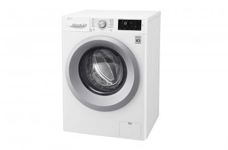 Mașină de spălat LG F4J5VN4W, 9Kg, 6 Motion DD, 10 ani garanție, Clasa A+++, NFC Smart ThinQ7