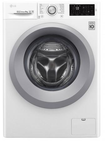 Mașină de spălat LG F4J5VN4W, 9Kg, 6 Motion DD, 10 ani garanție, Clasa A+++, NFC Smart ThinQ0