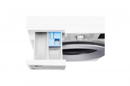 Mașină de spălat LG F4J5VN4W, 9Kg, 6 Motion DD, 10 ani garanție, Clasa A+++, NFC Smart ThinQ4