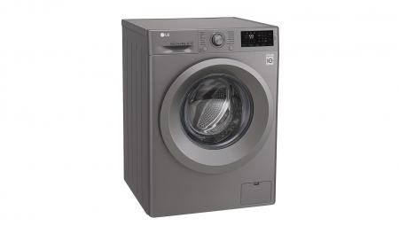 Masina de spalat rufe LG F4J5TN7S, Direct Drive, 8 kg, A+++, Argintiu3