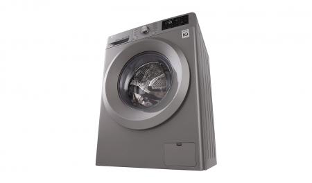 Masina de spalat rufe LG F4J5TN7S, Direct Drive, 8 kg, A+++, Argintiu4