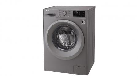 Masina de spalat rufe LG F4J5TN7S, Direct Drive, 8 kg, A+++, Argintiu5