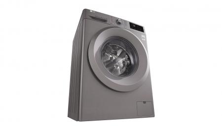 Masina de spalat rufe LG F4J5TN7S, Direct Drive, 8 kg, A+++, Argintiu2