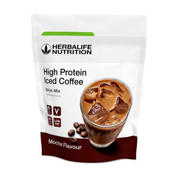 High Protein Iced Coffee Mocha 322 g [0]