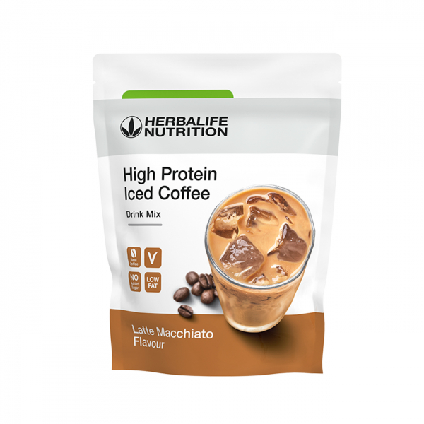 High Protein Iced Coffee Latte macchiato 308g [0]