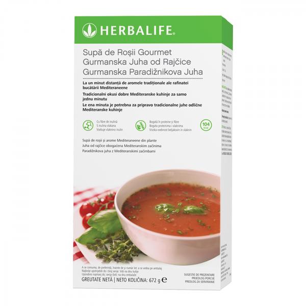 Supa de Roşii Gourmet Pachet Supă de roșii cu 21 de porții 672g [0]