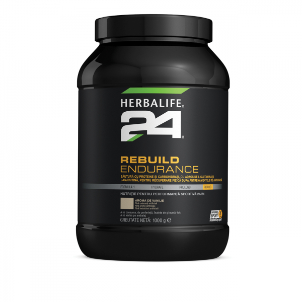 REBUILD ENDURANCE Vanilie 1000g [0]