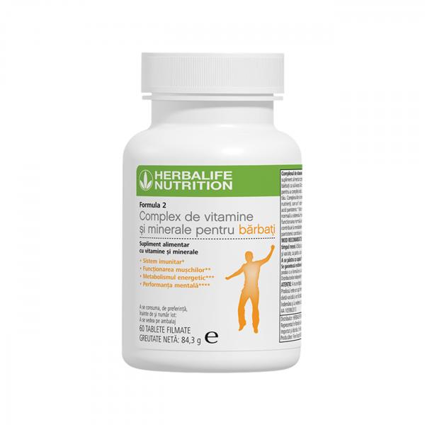 Formula 2 Complex de Vitamine și Minerale pentru Bărbați 60 de tablete [0]